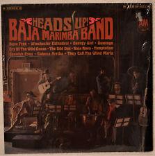 Baja Marimba Band Heads Up LP Shrink NM Vinyl Inn Slv They Call the Wind Maria