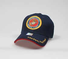 "U.S.Marines Adjustable ""One Size Fits Most"" Hat - Blue"