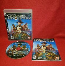 Sid Meier's Civilization Revolution (Sony PlayStation 3 PS3, 2008)