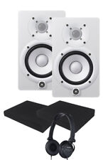 Yamaha HS5W White Studio Monitor Pair - STUDIO KIT **NEW**