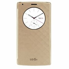 LG Quick Circle Snap-On Folio Case for LG G4 - Gold LGVS986CASEGD