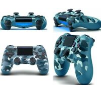 Blue Camo Dualshock4 ps4 Wireless Bluetooth Controller For Sony Playstation4