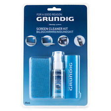 Grundig 3 Piece Computer Screen Cleaner Kit LCD Finderprints Dust Dirt Remover