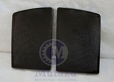 Vivid Black Speaker Grills Covers fit Mutazu 6 x 9 Speaker lids for Harley FLH