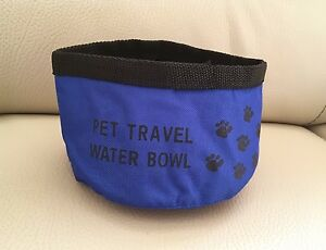 Brand New in packaging Collapsible Pet Dog Travel Water Bowl