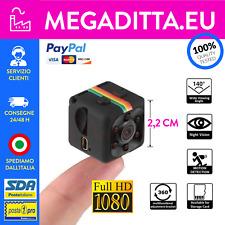Telecamera spia microcamera infrarossi full hd micro notturna mini copcam SQ11