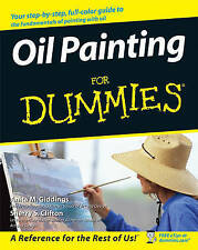 Oil Painting For Dummies, Clifton, Sherry Stone, Giddings, Anita Marie, New Book