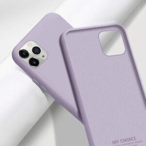 Liquid Silicone Soft Case Cover For iPhone 12 13 Pro Max 11 Pro Max XS X 8 7 SE