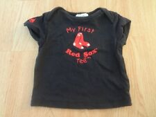 """Infant/Baby Boston Red Sox 18 Mo T-Shirt Tee """"My First Red Sox Tee"""" Majestic"""