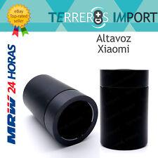 Altavoz Bluetooth 4.1 Xiaomi portatil cilindro metalico negro