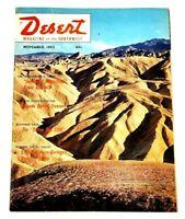 Vintage Desert Magazine of the Southwest November 1962 Salton Sea Anza Borrego