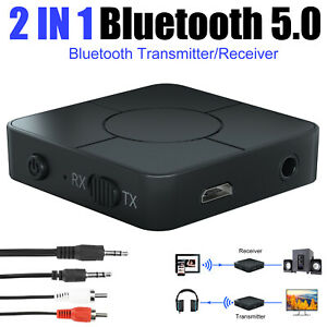 Bluetooth 5.0 Receiver Wireless A2DP Home Car TV Stereo Audio Adapter Hands-free