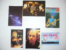 Lot  6  Cartes Postales   DIRE STRAITS  Mark Knopfler  Postcards