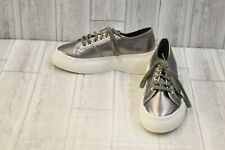 Superga 2287 COTMETW Sneakers - Unisex M(8), W(9.5) - Gray