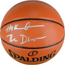 Hakeem Olajuwon Houston Rockets Signed Basketball w/ The Dream Insc