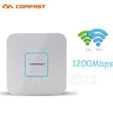 1200Mbps 2.4G/5GHz Dual Band Wireless WiFi AP Ceiling Access Point AC Router PoE