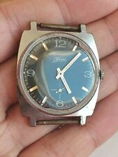 Rare soviet POBEDA ZIM watch Awesome Purple Dial USSR / CCCP *SERVICED*