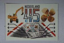 B2 Europa Niederlande 1189 Maximum-Karte Ersttag