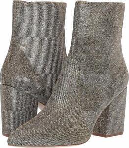 Loeffler Randall Women's Isla-GLTR Ankle Boot, Pewter, Size 10.5 wgGn