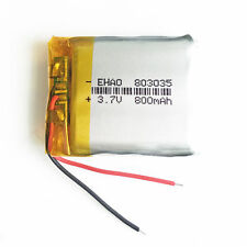 3.7V 800mAh 803035 Rechargeable LiPo ion Battery For mobile phone DVD GPS GPS