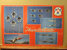 Vintage Thunderbirds U.S. Air Force poster Military 7013