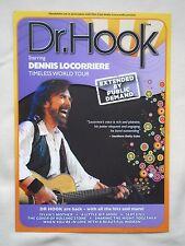 "DR HOOK/Dennis Locorriere Live ""Timeless World Tour"" UK 2017 Promo flyers x 2"