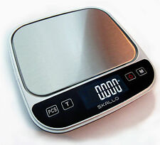 Skallo 0.1Gram Precision Jewelry Electronic Digital Weight Pocket Scale 3000g