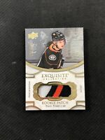 2018-19 UPPER DECK EXQUISITE TROY TERRY ROOKIE PATCH GOLD RP-TT #ed 50/299