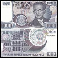 Austria 1000 (1,000) Schilling, 1983, P-152, UNC