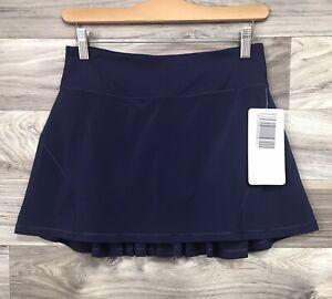 NWT Lululemon Circuit Breaker Skirt II - Size 4 Tall, Twilight Blue Purple TWLZ