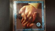 PAPETTI FAUSTO - AMORE VOLUME RACCOLTA 49. CD TIMBRO SIAE ROSSO A SECCO