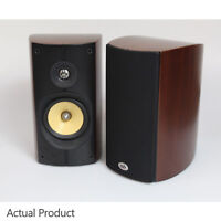 PSB Imagine B Loudspeakers Walnut - Bookshelf Speakers Curved BiWire - Boxed