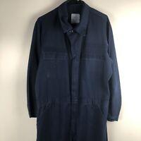 US Navy Coveralls Utility Uniform Blue Workwear Jumpsuit Long Sleeve Mens 42L