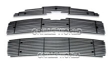 For 2006-2010 Chevy HHR SS Black Billet Premium Grille Grill Insert Combo