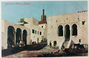 Vintage Tangier Morocco Postcard The Court House Valentine's Series