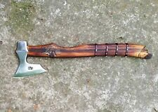 AXE VIKING BEARDED HATCHET GERMAN SHEPHERD DOG BATTLE AXE