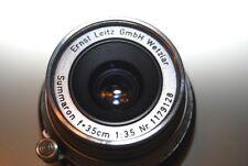 Leica Summaron 3.5cm 1:3.5 Ernst Leitz 35mm