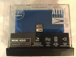 Altec Lansing Mini H2o Rugged Bluetooth Speaker Water & Sandproof Floats NEW