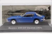 Altaya 1:43 Brasinca 4200 GT Uirapuru 1964 Diecast Toys Car Collection Models