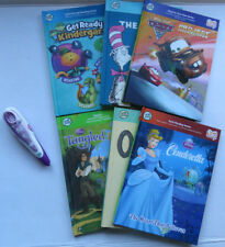 Lot Leap Frog Tag Reader Pen 6 Books Titles USB Connector See Details WORKS! EUC
