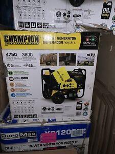 Champion 76533 3800 Watt Electric Start Dual Fuel Portable Generator #2