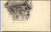 CPA France ~1895/1905 LE MANS Lithographie Litho-PK