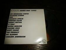 NEGRESSE VERTES - I AM - MASSIVE ATTACK - JJ CALE - KILLING JOKE CD PROMO!FRANCE