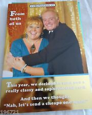 CORONATION STREET BIRTHDAY CARD - CILLA & LES FROM BOTH OF US, BRAND NEW