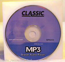Classic MP3 Digital Audio Player - Digital Music and Much More!
