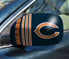 Chicago Bears Mirror Cover 2 Pack - Small [NEW] NFL Auto Elastic Car Truck CDG