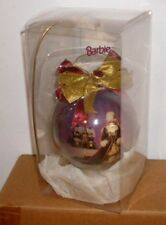 "1996 Barbie Happy Holidays Ornament with Stand 8"" Jc Penney Exclusive"