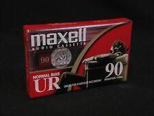 New Maxell UR-90 Minute Blank Audio Cassette Tape