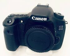 Canon EOS 60D 18MP CMOS Digital SLR Camera with 18-55mm f/3.5-5.6 IS Lens.