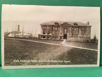 RPPC Agricultural Building Bozeman Montana MT Postcard ID#1169